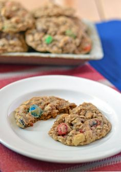 oatmeal cooki, trail mix, mix cooki, healthy egg white cookies, food, drink recip, chewi oatmeal, healthy cookie recipes, trailmix