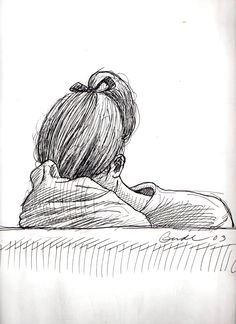 Young girl sleeping in her arm on my Metro North RR commute into NYC —Karl Gude young girl