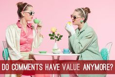 In a changing blogosphere, what value do comments have? Do we need to change how conversation happens online?
