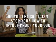How To Deal With Criticism Online