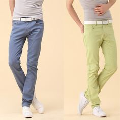 Fashion Color Slim Fit Jeans http://www.sneakoutfitters.com/Fall-2013-Collection/Fashion-Color-Slim-Fit-Jeans-p4297.html