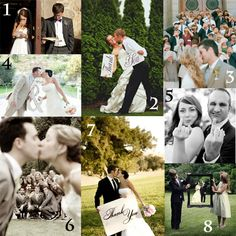8 Wedding Day Poses That Are A Must!