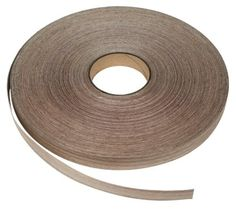 The EB025 Walnut Edge Banding Tape is made from 1/42-inch thick wood ...