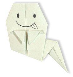 折り紙・おばけ