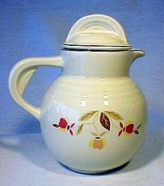 NALCC Autumn Leaf Syrup Pitcher