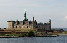 Kronborg is a castle and star fortress in the town of Helsingør, Denmark. Immortalized as Elsinore in William Shakespeare's play Hamlet, Kronborg is one of the most important Renaissance castles in Northern Europe and was added to UNESCO's World Heritage Sites list on November 30, 2000.