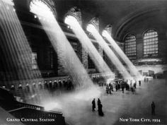 Grand Central Station NYC, 1934
