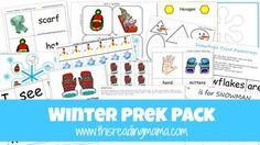 Winter PreK Pack