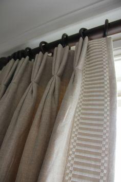 custom window, interior trim, henhurst interior, curtain detail, braids, master bedrooms, window treatments, shower curtains, interior henhurst
