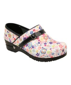 Take a look at this White Koi Pond Original Professional Clog - Women by Sanita on #zulily today!
