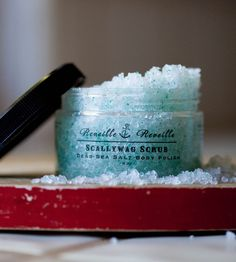 Salt Scrub - a great gift for a birthday, or even for a bride!