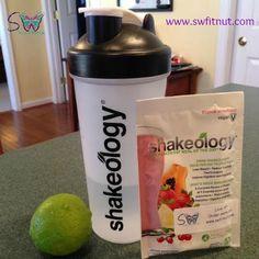 Strawberry Limeade Shakeology / #shakeology #recipe #strawberry #lime