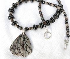 Womens Necklace FREE SHIP Handmade Jewelry Jasper by JewelActs, $59.00