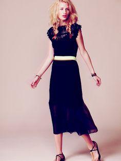 Free People Satya Lace Maxi Dress