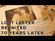 ▶ Lost Love Letter Reunited with Family 70 years Later