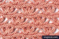 @ MyPicot - Free crochet pattern - openwork & lace