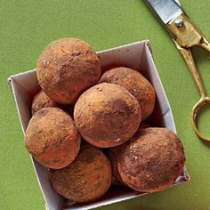 Chai Truffles | Chai-lovers will go crazy for these spicy-sweet desserts. | SouthernLiving.com