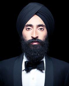 men styles, fashion staples, tuxedo, bow ties, turban, style icons, beard, wari ahluwalia, style blog