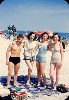 Rockaway Beach, New York  Summer 1950