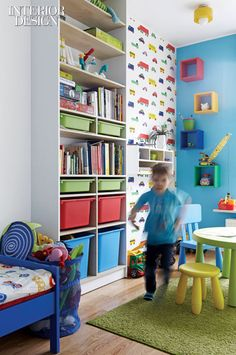 Kids' room - great storage solution