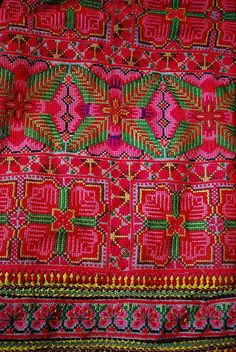 hmong hilltribe embroidery