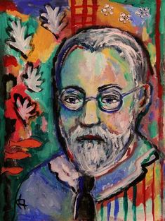 Matisse and his Motifs - Daily Paintworks - original art by Roberta Schmidt