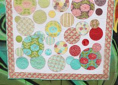 Lauren and Jessi fabric Chantilly free pattern on their blog.
