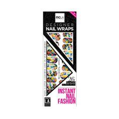 I love the ncLA Volume Up Nail Wraps from LittleBlackBag da nail, ncla nail, beauti, nail wrap, nailwrap, designer nails, nail idea, biuti nail, nail art