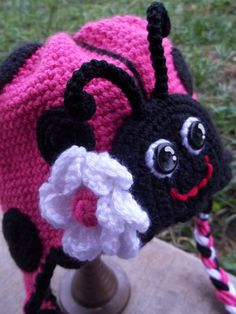 Ladybug, Ladybug, fly away home...to the top of my little darlin'!    Find me at www.cyncerelycroc...