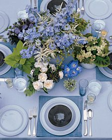 The perfect centerpiece for your Labor Day party
