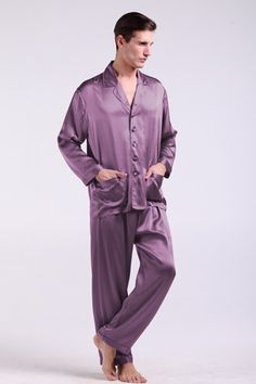 Perfect appearance and top quality are from our 100% natural silk pajama bottoms. $112 #pajamas #silk #lilysilk
