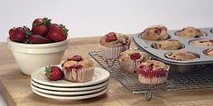 Strawberry Banana Muffin Petit Fours
