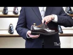 Joe Zapatka from #TheShoeMart shares information about the fitting properties and profile of the #Alden #Barrie Last.  | www.TheShoeMart.com #AldenShoes