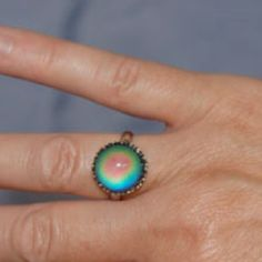 Mood ring...the only way we knew our emotions in the 1970's.