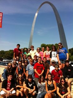 The choir is heading south! We spent the afternoon sightseeing in st Louis, we toured the arch and went to a cardinals game. Friday we head to Memphis!