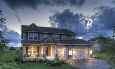 The Sinclair from @Lennar Minnesota boasts an open great room downstairs and four bedrooms upstairs