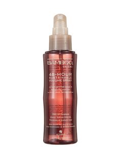 Natural Wonders 2012: Best of Beauty: Best of Beauty: allure.com  Alterna Bamboo Volume 48-Hour Sustainable Volume Spray. Spritz your roots on Friday; hair still looks lush and thick on Sunday. $25