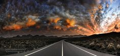 Road To Mordor by Juan Carlos  Cortina amaz sunset, amaz cloud, mordor photo, breathtak photographi, carlo cortina, roads, juan carlo, favorit photo, amaz photo