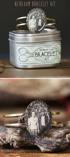 Craft Your Own Photo Cuff Bracelet - a cute gift idea
