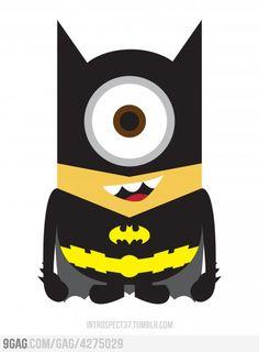 Batman. Too cute!