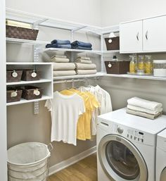How to create an organized laundry room | #organizedliving