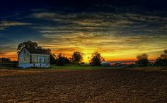 """Country Sunrise"" by George Saad"