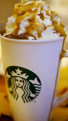 Salted Caramel Hot Chocolate ...just like Starbucks
