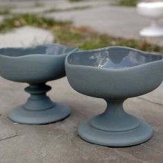 dbO Home: Dbo Ware: Pedestal Bowls (Set Of 2) #1