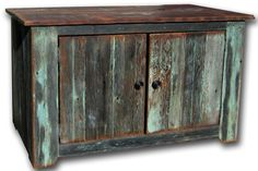 Old Barn Wood Home Decor | LOVE Furniture made out of old barn wood. | Decor Ideas
