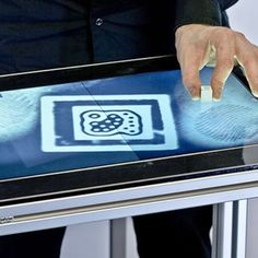 The First Touchscreen to Recognize Fingerprints [VIDEO]