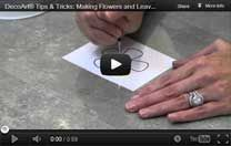 Making flowers & leaves video tutorial