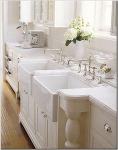 double kitchen sinks
