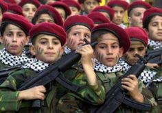 Palestinian child army  don't see these children on the news? This is where our govt. sends millions of dollars and plans to send additional 47 million more 7-25-14