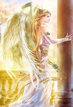 artists, fantasi art, angel art, angels